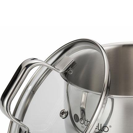 Grace 單柄不鏽鋼奶鍋 2